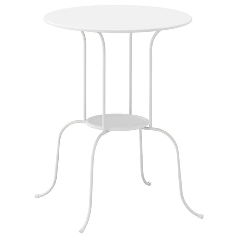 LINDVED Side table, white, 50x68 cm. 80433896