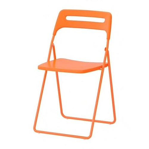 70246211 - NISSE Folding chair, orange