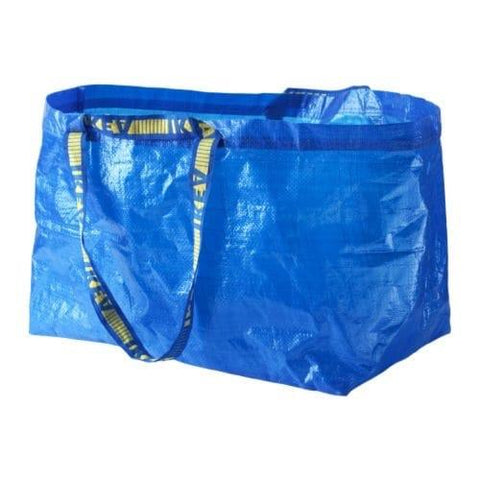 FRAKTA Carrier bag, large, blue, 71, 20188483