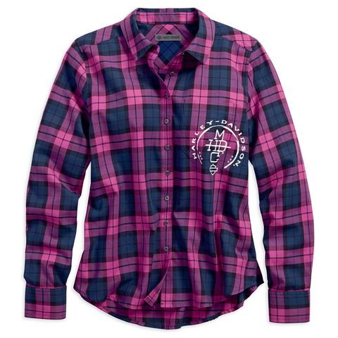 96176-18VW  H-D® Stacked HDMC Women's Shirt