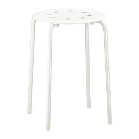 MARIUS Stool, white. 30184050