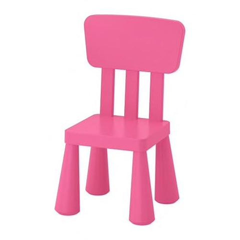 MAMMUT Children's chair, in/outdoor, pink. 60382322
