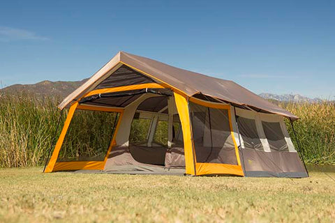 Golden Bear 8-Person 15'x12' Timber Lodge Tent. 5828801