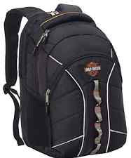 99913-BK - Harley-Davidson® Mens B&S Laptop Black Backpack
