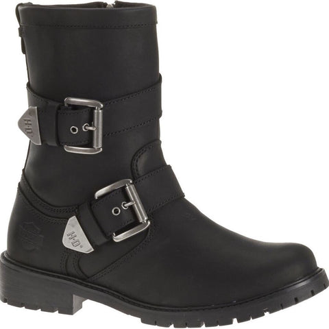 D93279 H-D® Men's Wilder Black Slate Grey Leather Boots