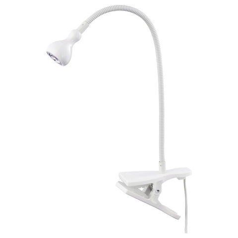 90386333 JANSJO LED wall/clamp spotlight, white