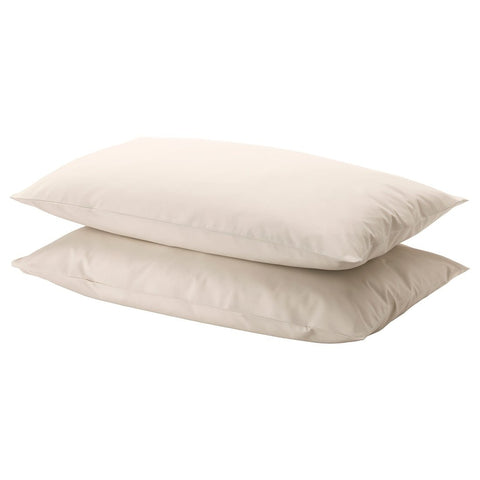 DVALA Pillowcase, beige, 50x80 cm /2 pieces. 20356589