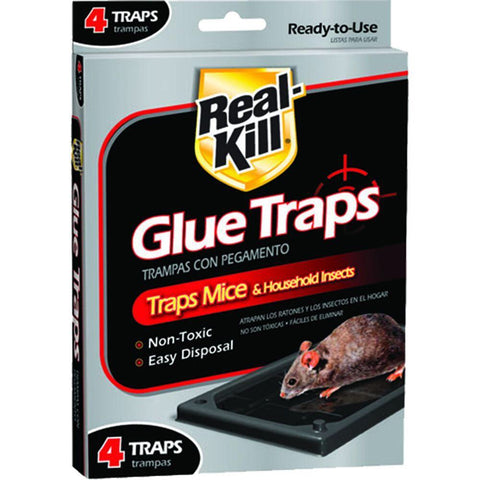 71121100955 - Real-Kill  Mouse Glue Traps (4-Pack)