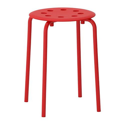MARIUS Stool, red. 60246198