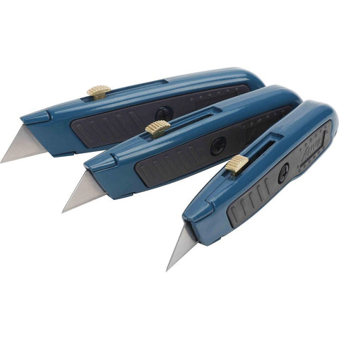 820909996668 - ANVIL  Retractable Utility Knife Set (3-Pack)