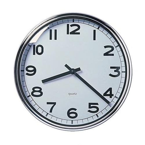 PUGG Wall clock, stainless steel. 90391909