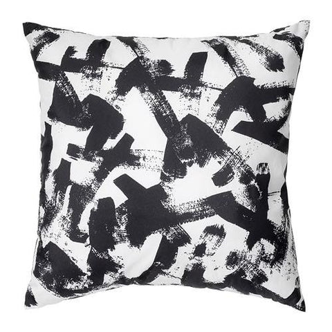 TURILL Cushion, white/black.  80392966