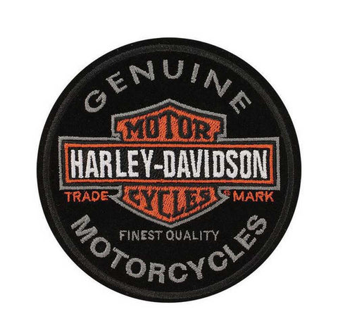 EM312642 - Harley-Davidson® Long B&S Trademark Small Patch