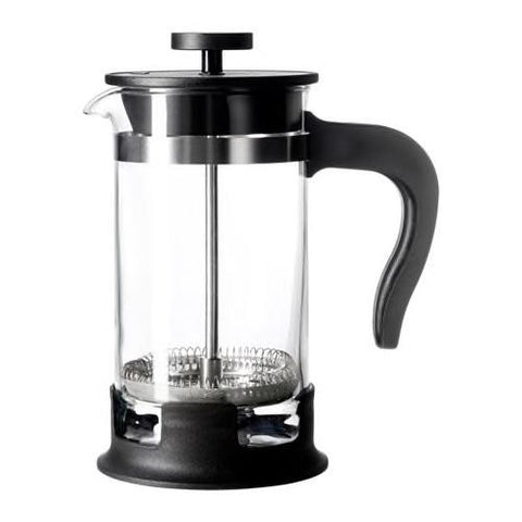UPPHETTA - Coffee/tea maker, glass, stainless steel, 0.4. 20297849