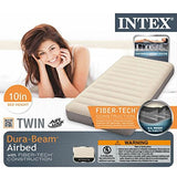 5789615 Intex Twin Deluxe Single-High Airbed with Battery Pump