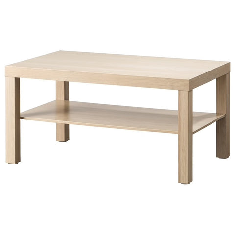 LACK Coffee table, white stained oak effect, 90x55 cm. 90431533