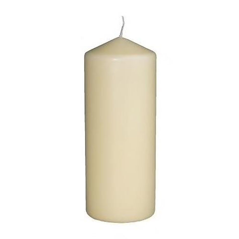 FENOMEN Unscented block candle, natural, 15 cm. 80136231