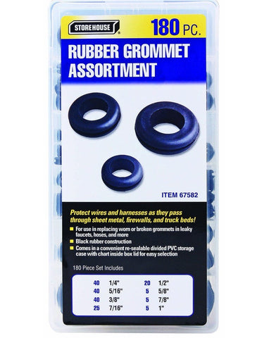 PITTSBURGH 180 pcs Harness Grommet Set