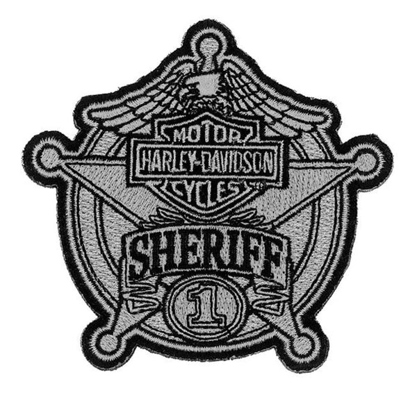 EM1264752 Harley-Davidson® Sheriff Original Small Patch Patch