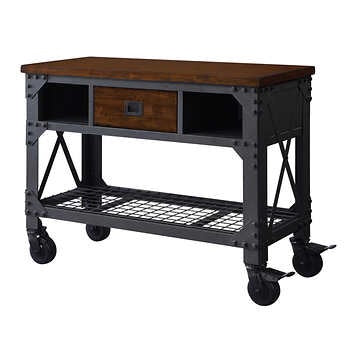 "1600090 Whalen 48"" Metal & Wood Work Bench"