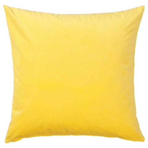VENCHE Cushion cover, bright yellow, 50x50 cm. 90443729