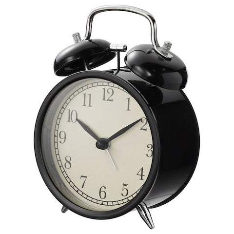 DEKAD Alarm clock, black  50391906