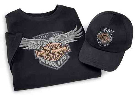 99405-18VM H-D® Mens 115th Anniversary 2-Pk Limited Edition Ride Pack