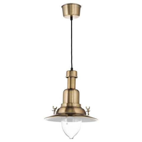 OTTAVA Pendant lamp, brass-colour. 50394368