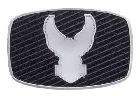 97622-17VM Harley-Davidson® Men's Cut-Out Eagle w/ Leather Inlay Belt Buckle