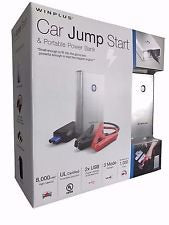 1172833 Winplus Car Jump Start & Portable Lithium Power Bank - Silver