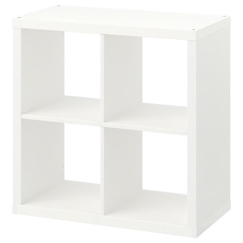 KALLAX Shelving unit, white, 77x77 cm. 70351886