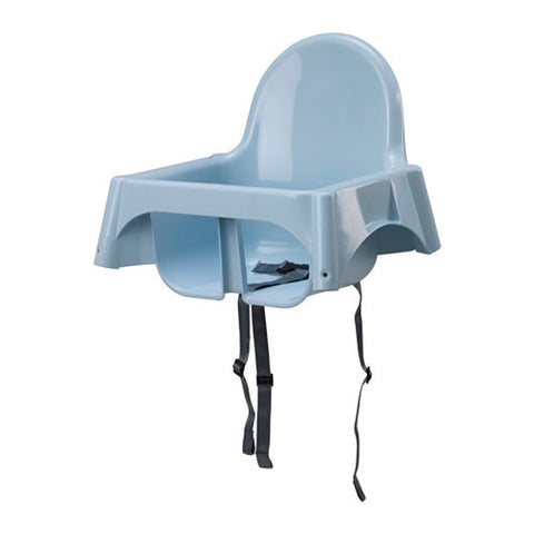 ANTILOP Seat shell for highchair, light blue. 60367449