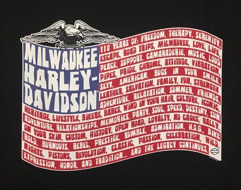 302964000 Harley-Davidson Milwaukee Men`s T-shirt