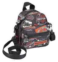 99668-VIN   H-D® Vintage Collection Mini-Me Small Backpack, Black