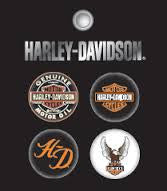 168219 H-D® Men's Button