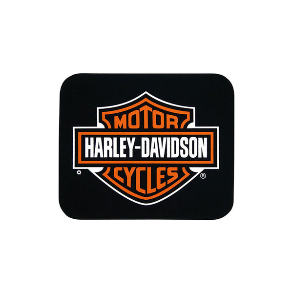M030230 Harley-Davidson Mouse Mat Bar & Shield Black Neoprene