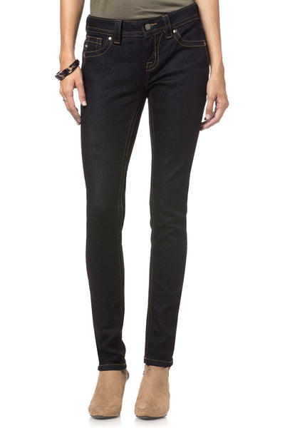 MS5151S128 Nocturne Mid-Rise Skinny Jeans - Miss Me