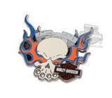 181123 H-D® Skull Flames with B&S Pin