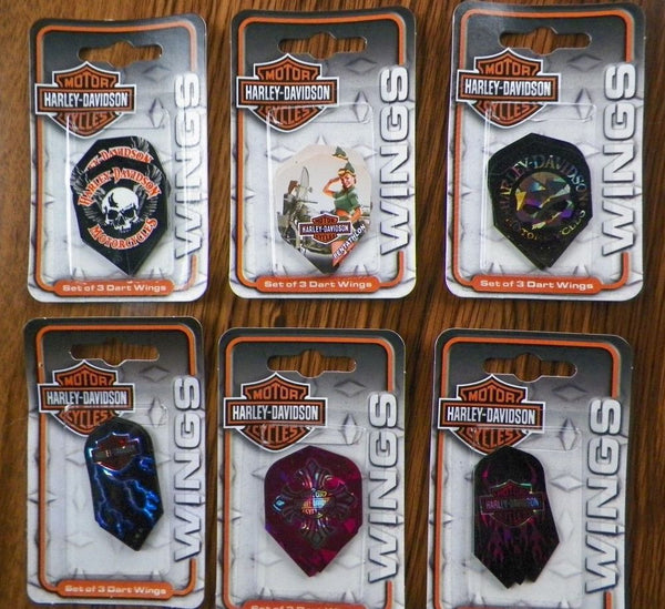 D6088 Harley-Davidson Assorted Dart Wings