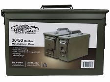 731258 Heritage 30/50 Caliber Metal Ammo Cans