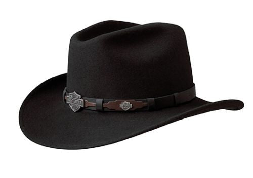 HD-18 BLK H-D® Crushable Water Resistant Cowboy Hat – SmartRyders ... 801ae705456
