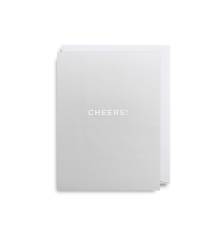 "Mini Card ""Cheers"""