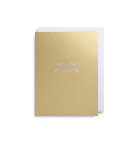 "Mini Card ""You're Golden"""
