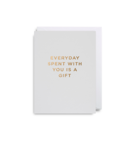 "Mini Card ""Everyday Spent with You"""