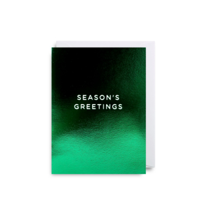 'Season's Greetings' Mini Card