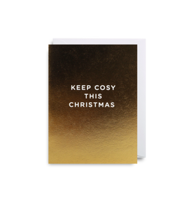 'Keep Cosy' Mini Card