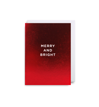 'Merry and Bright' Mini Card