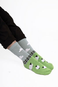 Ladies Sheep Meadow Bamboo Socks
