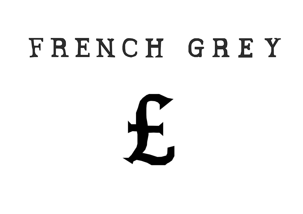 French Grey Gift Card
