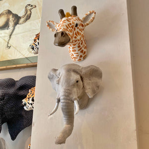 Safari Animal Head Wall Mount
